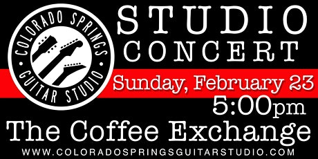 Colorado Springs Guitar Studio Student Concert tickets