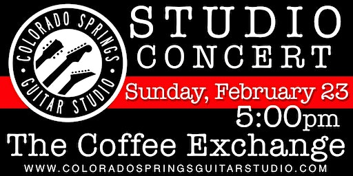 Colorado Springs Guitar Studio Student Concert