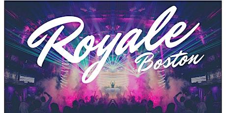 Royale Saturdays tickets