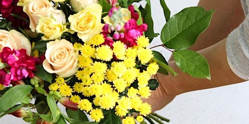 Mother's Day Hand Tied Bouquet Workshop