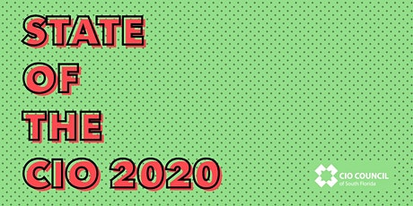 State of the CIO 2020 tickets