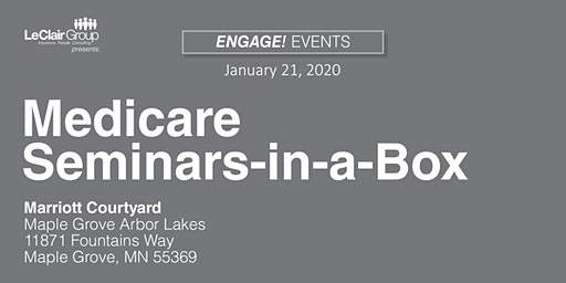 Medicare Seminars-in-a-Box - SOLD OUT
