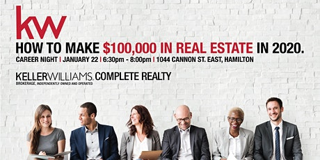 Career Night   How To Make $100,000 In Real Estate tickets