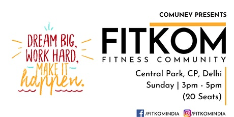 Fitkom - Fitness Community tickets