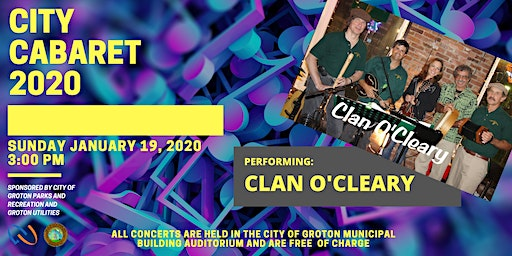 City Cabaret 2020  - Clan O'Cleary