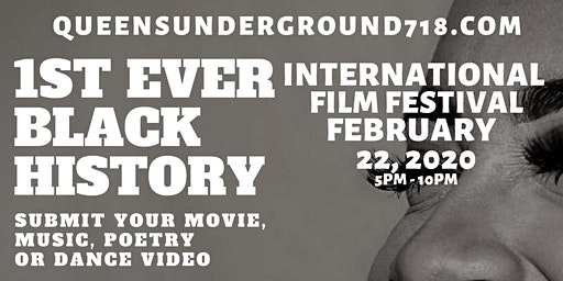 Film Festival - 1st Ever Black History Month Multi-Genre