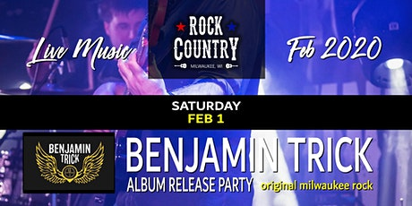 Benjamin Trick Album Release at Rock Country! tickets