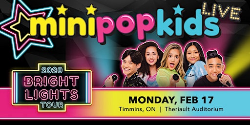 MINI POP KIDS Live: Bright Lights Tour