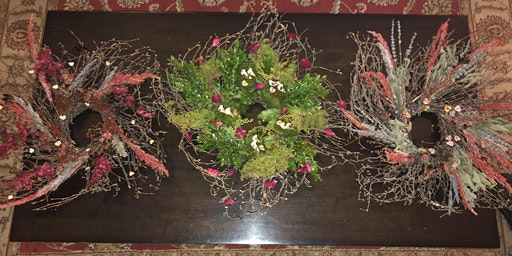 Valentine's Wreath Decorating Class Hosted by Buy the Farm