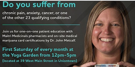 Medical Marijuana Certifications and Renewals - Uniontown tickets