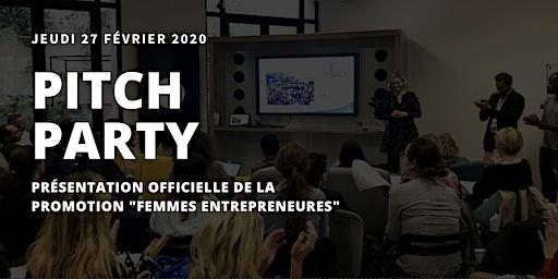 Pitch Party : présentation officielle de la promotion Femmes Entrepreneures
