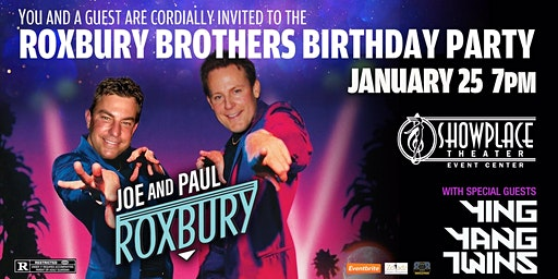 Roxbury Brothers Birthday Party With the YING YANG TWINS!