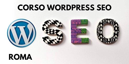 Corso WordPress SEO a Roma