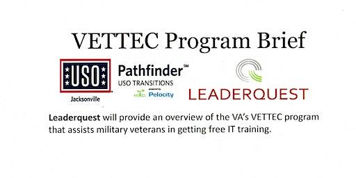 USO Pathfinder - VETTEC Program Brief