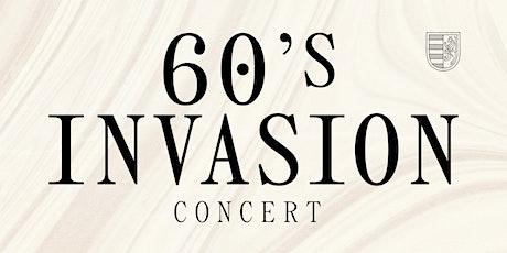 60's Invasion Winter Concert  tickets