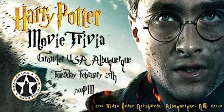 Harry Potter Movies Trivia at Growler USA Albuquerque tickets