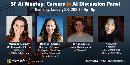 SF AI Meetup: Careers in AI Discussion Panel