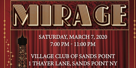 Shining Studios proudly presents: THE MIRAGE GALA tickets