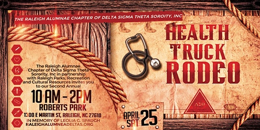 Health Truck Rodeo - Raleigh Chapter of DST Sorority, Inc