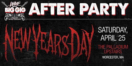 WAAF BIG GIG AFTER PARTY - NEW YEARS DAY