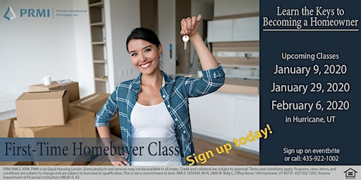 First-Time Home Buyer Class - January 29th