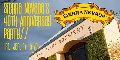 Sierra Nevada's 40th Anniv. Party tickets
