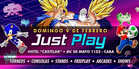 Just Play - Retro Summer / Evento Gaming! entradas