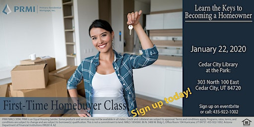 First-Time Home Buyer Class - January 22nd