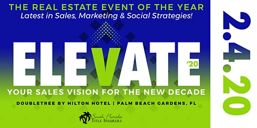 ELEVATE – Your Sales Vision For The New Decade 2020