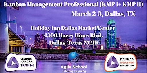 Kanban Management Professional (KMP I + KMP II) Dallas (Guaranteed to Run)