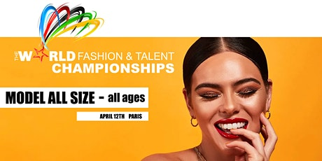 CASTING CANTON / World Modeling Championship in Paris tickets