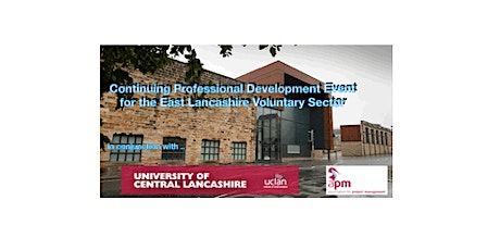 Professional Development Event for the East Lancashire Voluntary Sector tickets