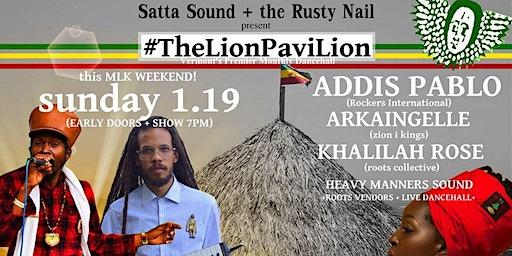 #TheLionPavillion Part II - Monthly Dancehall Reggae