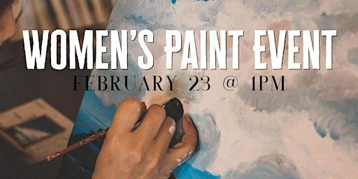 Women's Paint Event