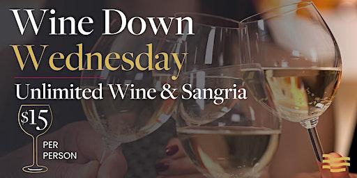 Wine Down Wednesday at De La Vega