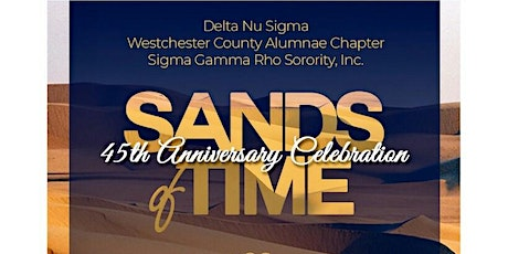 Delta Nu Sigma | Sands of Time | 45th Anniversary Celebration tickets
