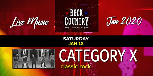 """Category X - The """"Rock"""" in Rock Country!"""