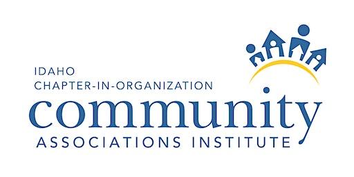 CAI Idaho - Chapter in Organization - Quarterly Lunch & Learn - Legislative