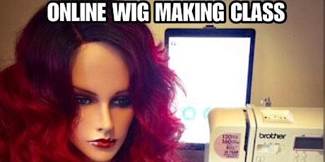 Lace Front Wig Making Online Class Webinar tickets