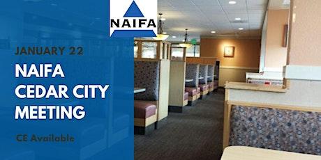 NAIFA Cedar City January Meeting tickets