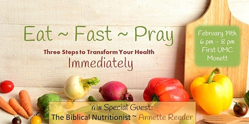 Eat ~ Fast ~ Pray: Trinity Diet to Transform Your Health Immediately