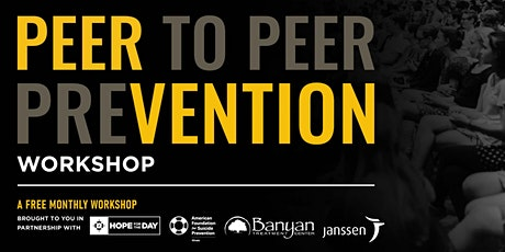 March PEERvention Workshop tickets