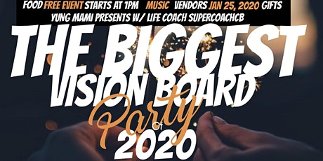 YUNG MAMI'S 20/20 VISION BOARD PARTY tickets