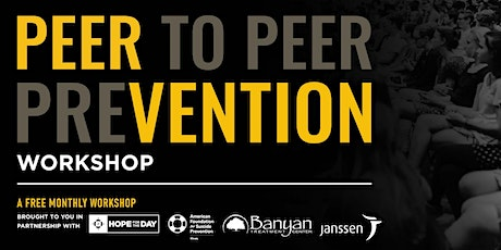 April PEERvention Workshop tickets
