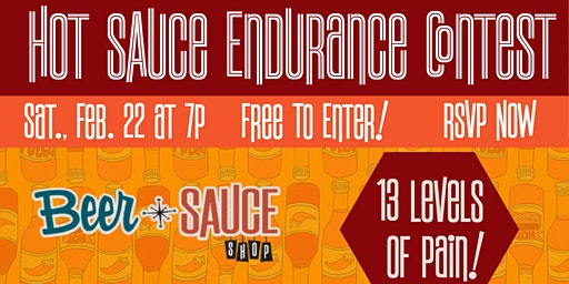 Hot Sauce Endurance Contest