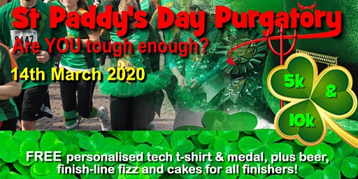 St Paddy's Day Purgatory (& a Pint!) 5km & 10km