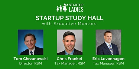 Startup Study Hall with Tom Chrzanowski, Chris Frankel, and Eric Levenhagen tickets