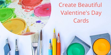 Community Crafting Workshop: Make Your Own Watercolor Valentine's Day Cards tickets