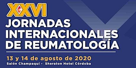 XXVI Jornadas Internacionales de Reumatología | Vissiting Professor 2020 entradas