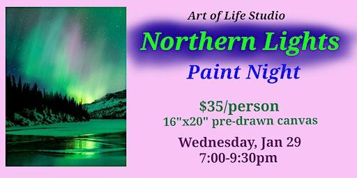 Paint Night: Northern Lights